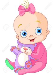 18d9cf4ad8cc0a0e7f3d1a403f9b7b9c_illustration-of-cute-baby-girl-with-teddy-bear-royalty-free-_951-1300.jpeg